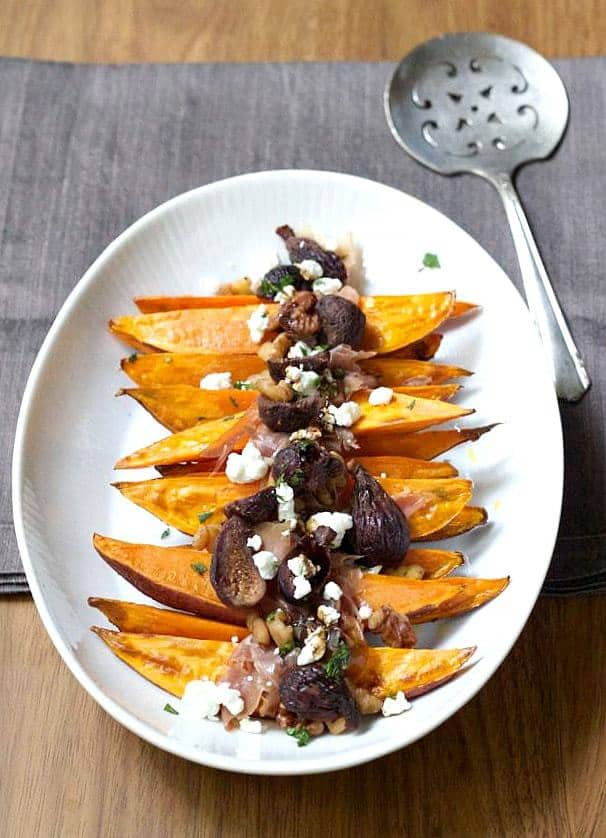 Roasted Sweet Potatoes Roasted are a wonderful side dish option for the holidays.