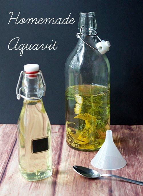 Aquavit - Homemade aquavit is simple to make and adds Swedish festivity to your holiday celebrations.