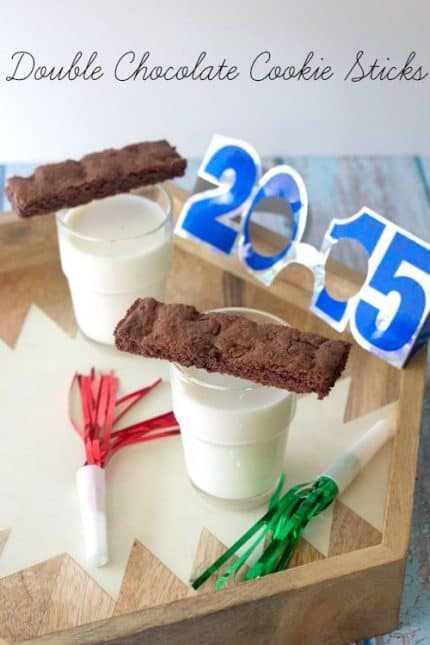 Double Chocolate Cookie Sticks