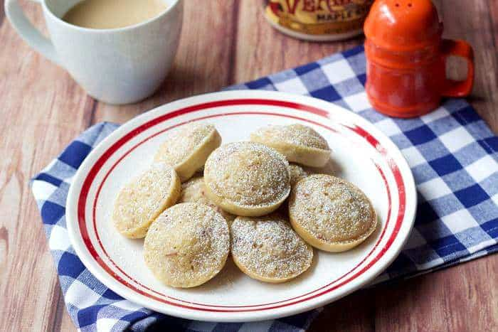 Pancake Poppers - Maple bacon pancake poppers add fun to breakfast.
