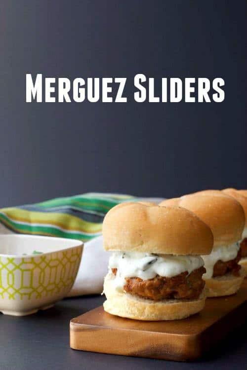 Merguez Sliders make burger night more exciting.