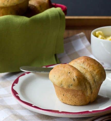 Buttermilk Herb Rolls