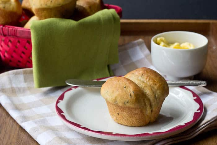 Buttermilk Herb Rolls round out any supper and are especially great for dunking in soup.