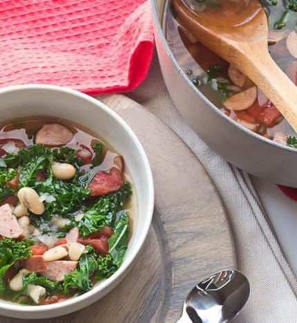 White Bean Sausage Soup