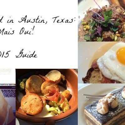 French Food in Austin: Mais Oui!