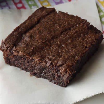 Lightened-Up Fudgy Brownies