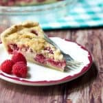 Raspberries and Cream Pie