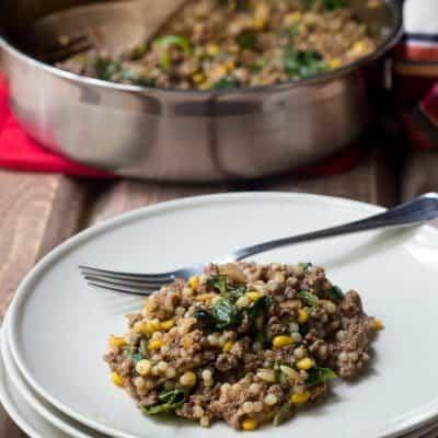 Bison One-Pot Dinner