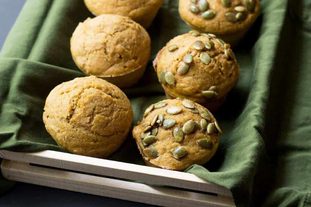Pumpkin Muffins with Pepitas - These wholesome pumpkin muffins with pepitas will become your new go-to fall recipe.