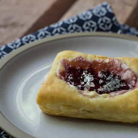 Copycat Starbucks Red Berry Cheese Danish