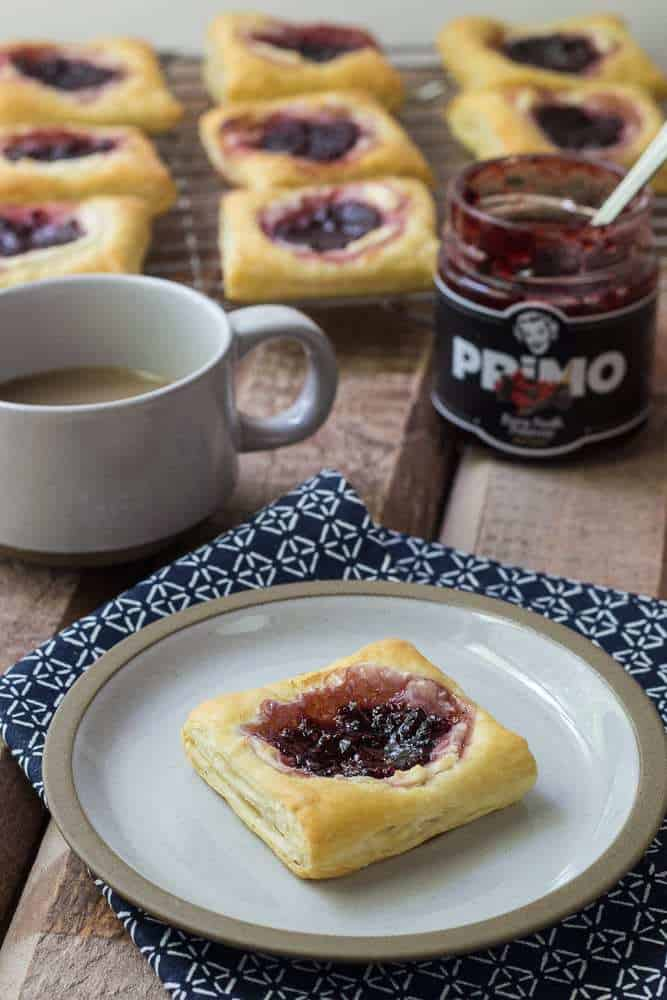 Starbucks Red Berry Danish - This Copycat Starbucks Red Berry Cheese Danish recipe lets you enjoy a summer delight all year long.