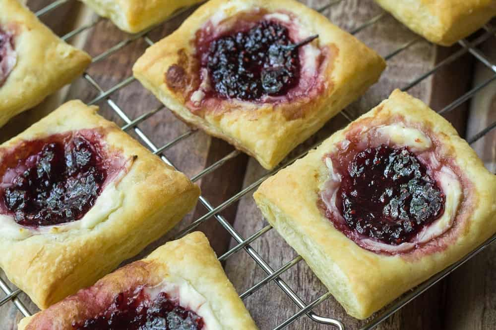 Starbucks Red Berry Danish makes for a great bite that doesn't leave you overwhelmed with sweetness.