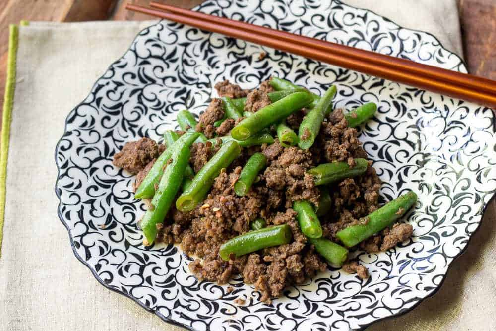 Beef and Green Bean Stir Fry is a quick and easy dinner.