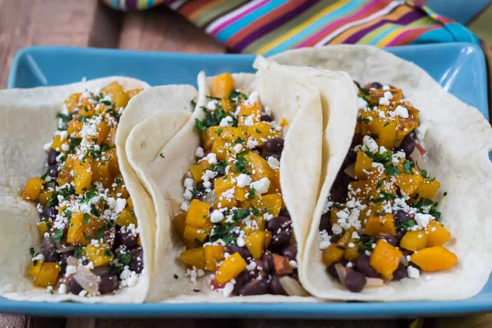 Butternut Squash Tacos - Meat, who needs it?