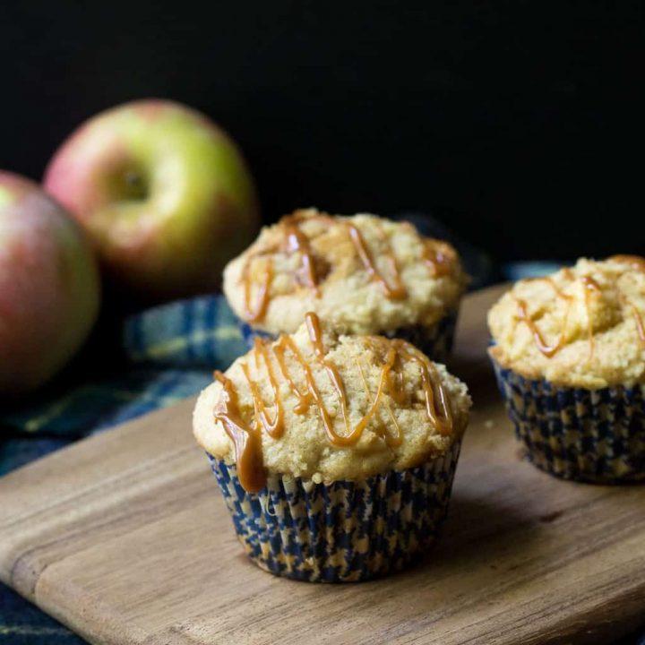 Caramel Apple Muffins