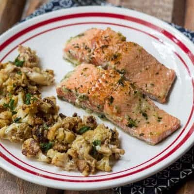 Easy Ginger Salmon