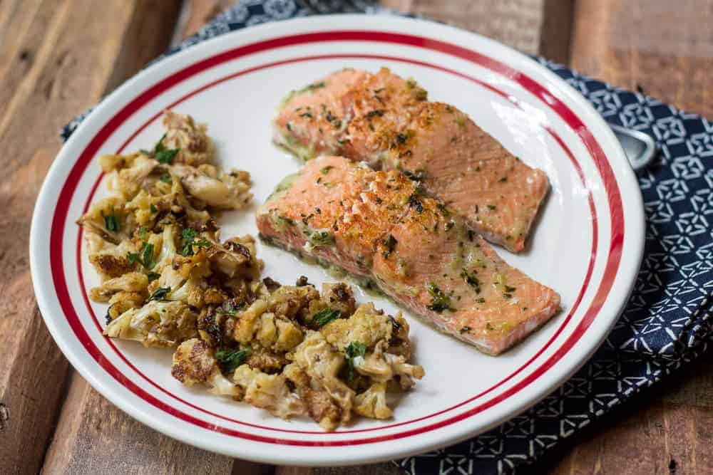 Easy ginger salmon is full of flavor and ready for the table in mere minutes.