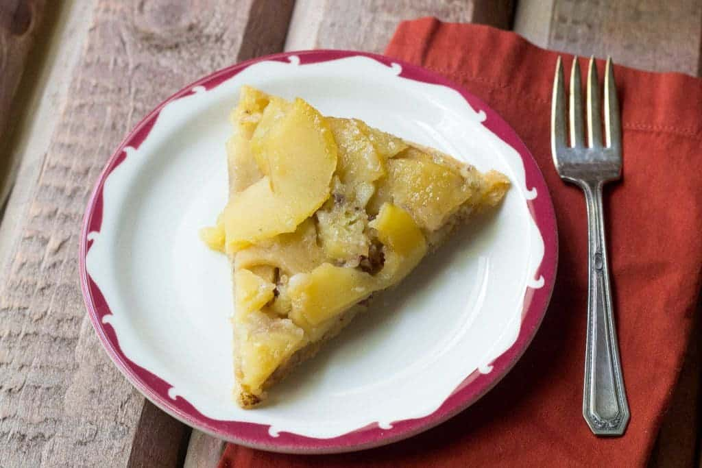 Swedish Apple Pie is perfect for your holiday table.
