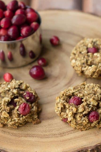 Cranberry Breakfast Cookies