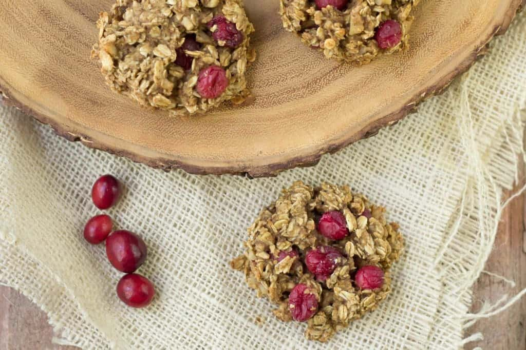 Cranberry Breakfast Cookies are a treat you'll be making all fall.