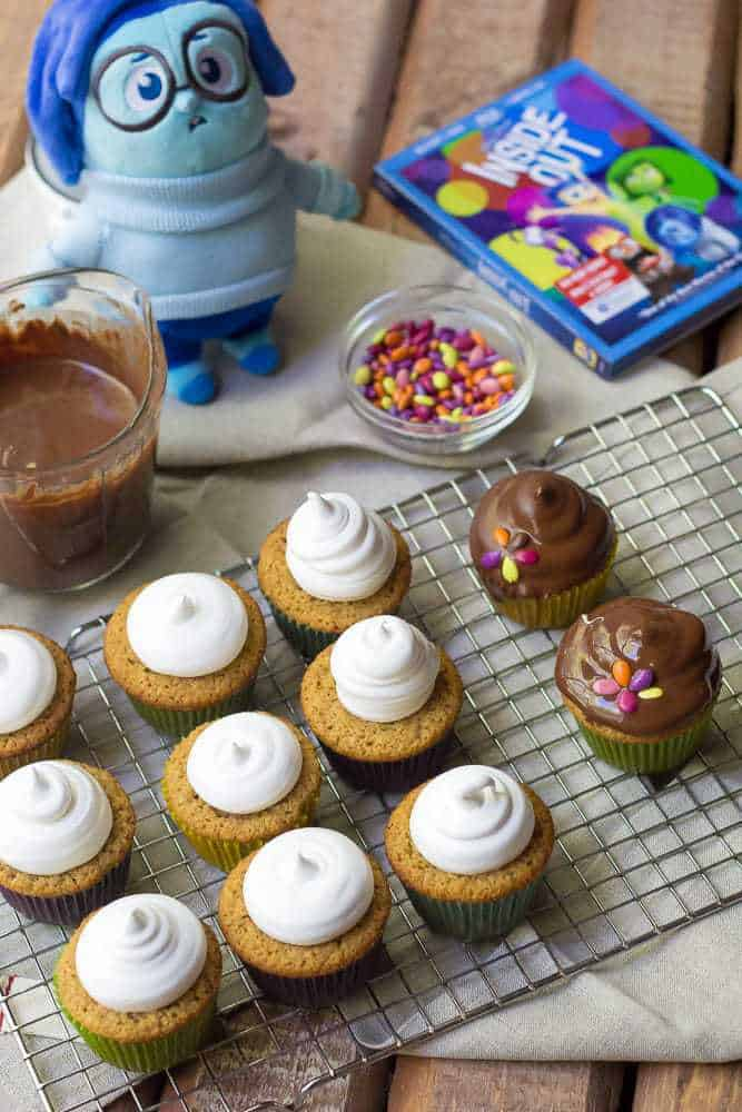 Moon Pie Cupcakes - These moon pie cupcakes bring back memories of childhood happiness with each bite.