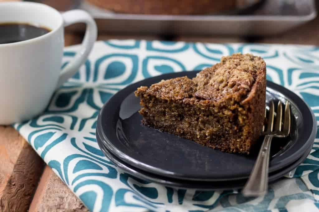 Espresso Streusel Coffee Cake is warmly spiced and perfect for brunch.