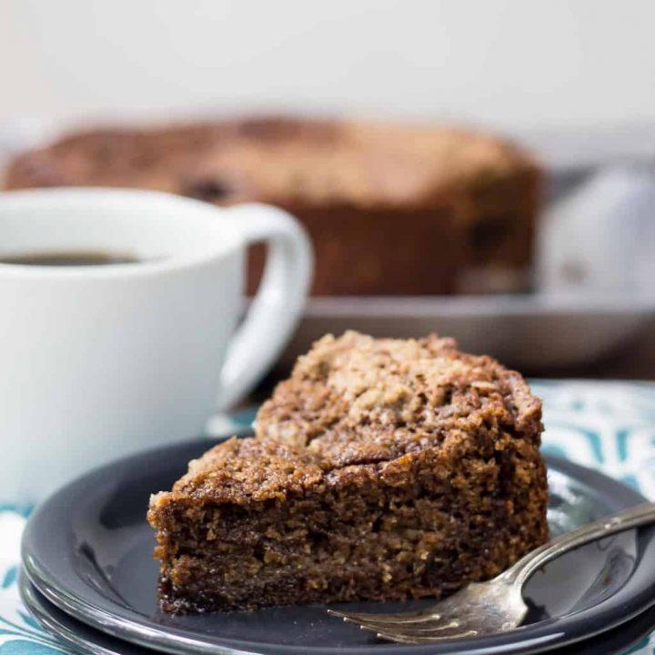 Espresso Streusel Coffee Cake