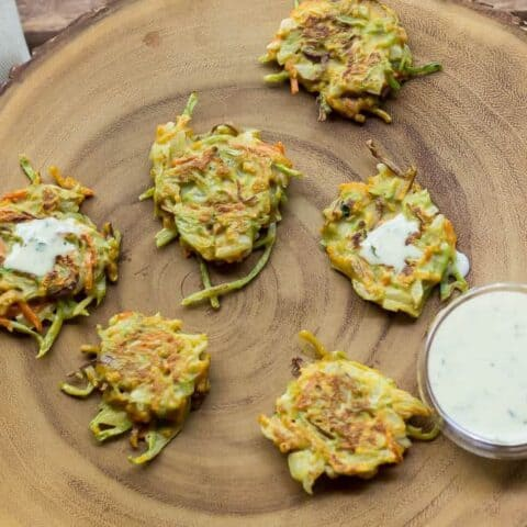 Mini Vegetable Latkes
