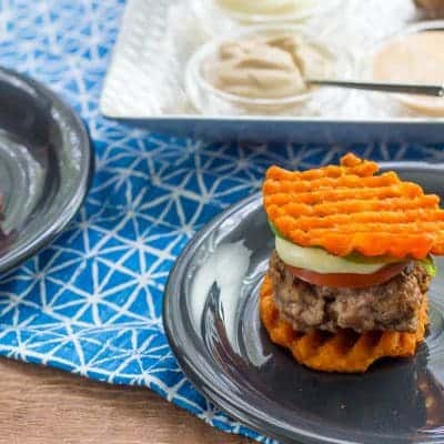 Party Sliders with Waffle Fry Buns