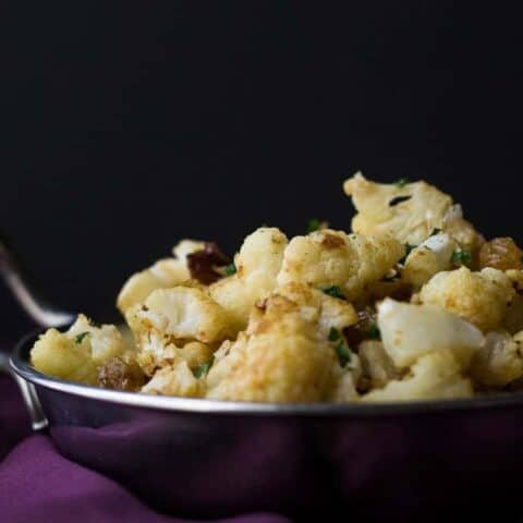 Peanut Butter Cauliflower
