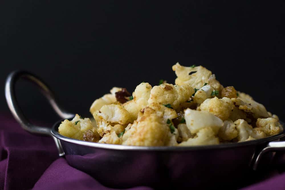 Peanut butter cauliflower is a great way to liven up the simple vegetable.