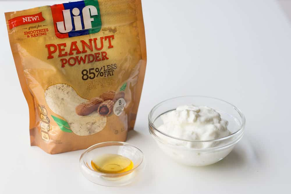 Peanut Butter Fruit Dip - Peanut Powder