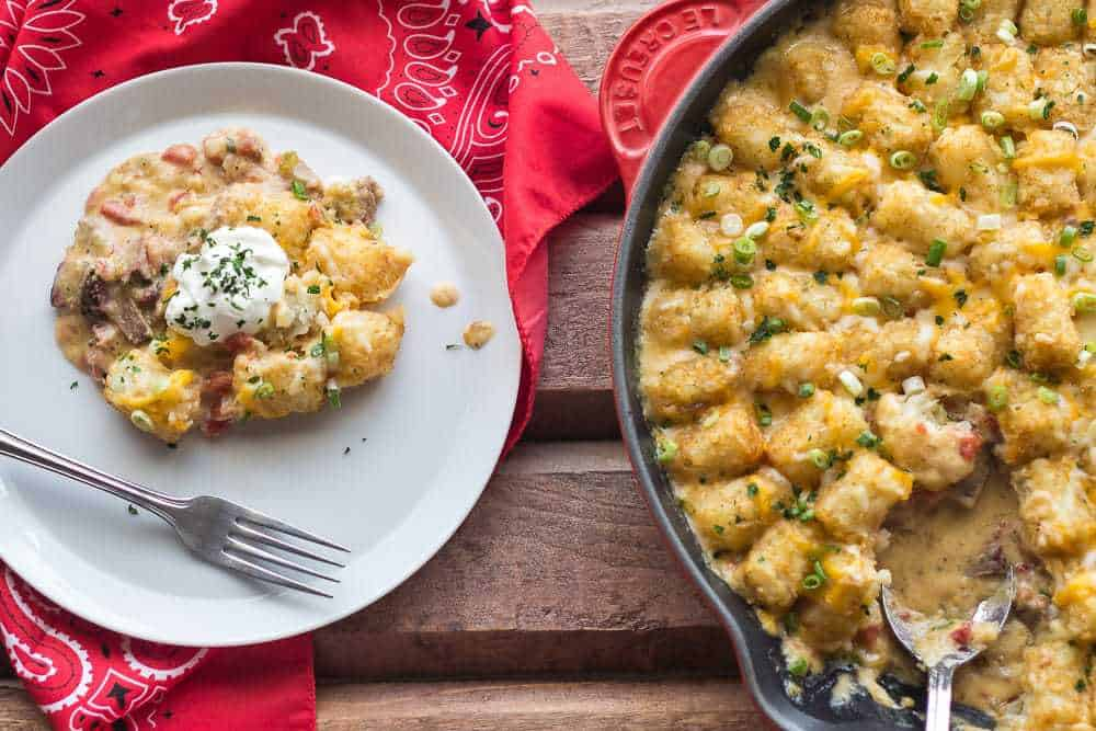 Texas Tater Tot Casserole is the comfort food you need.