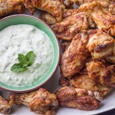 Baked Tandoori Chicken Wings