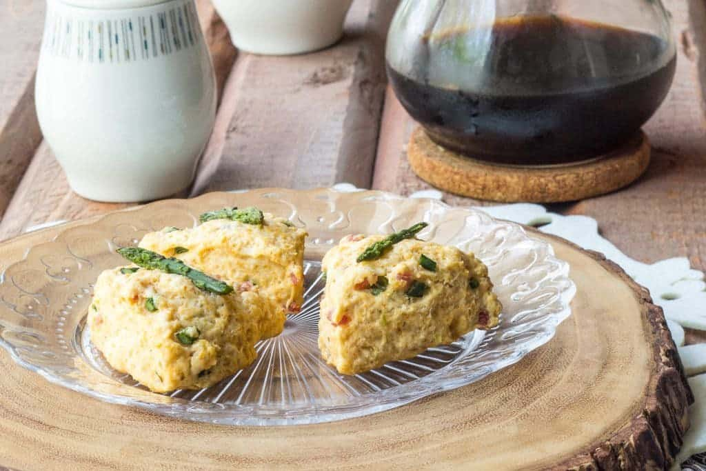 Ham Asparagus Scones are a great item to have for your next brunch.