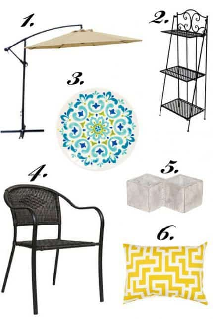 Patio Picks for Summer with At Home
