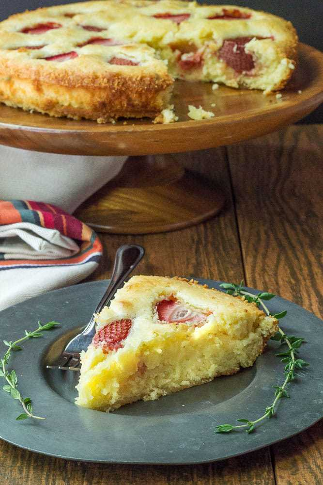 Strawberry Lemonade Cake is a moist, tart cake that's ideal for spring celebrations.