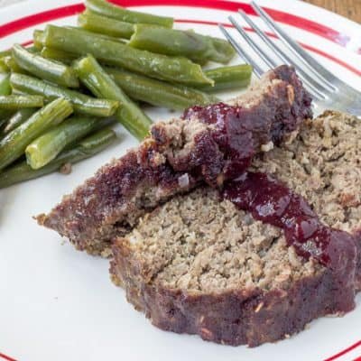 Cherry Glazed Meatloaf