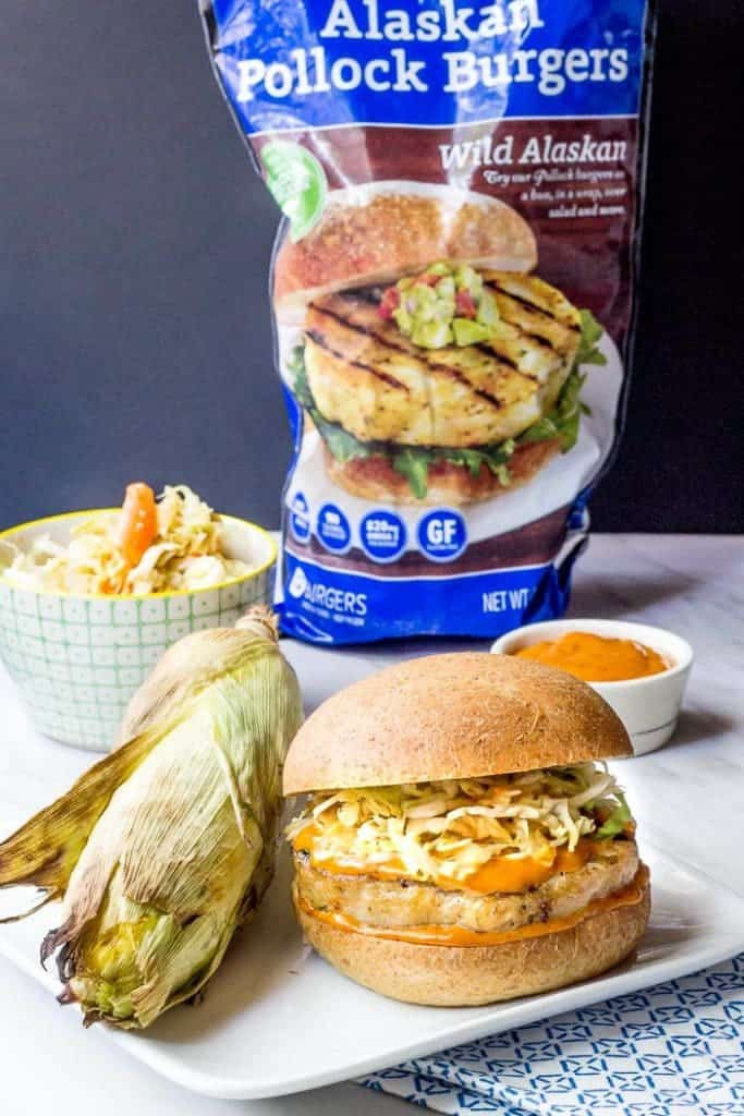 Gochujang Pollock Burger Product Image