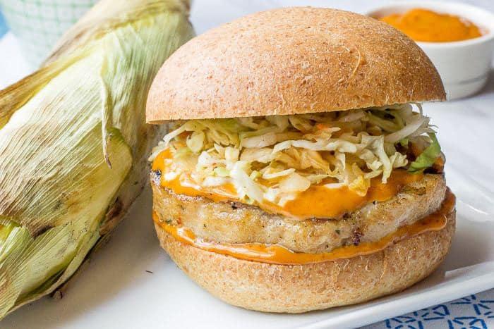 Gochujang Pollock Burger