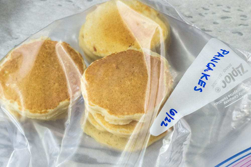 Learn how to freeze pancakes and win breakfast time! They're great for busy mornings.