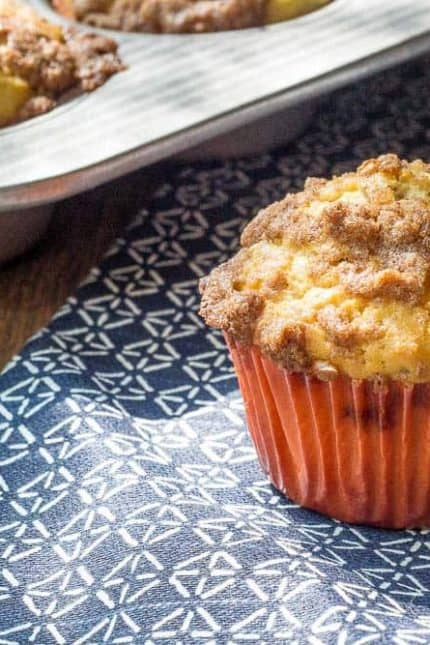 Maple walnut muffins are bursting with maple syrup flavor. They're perfect for fall.