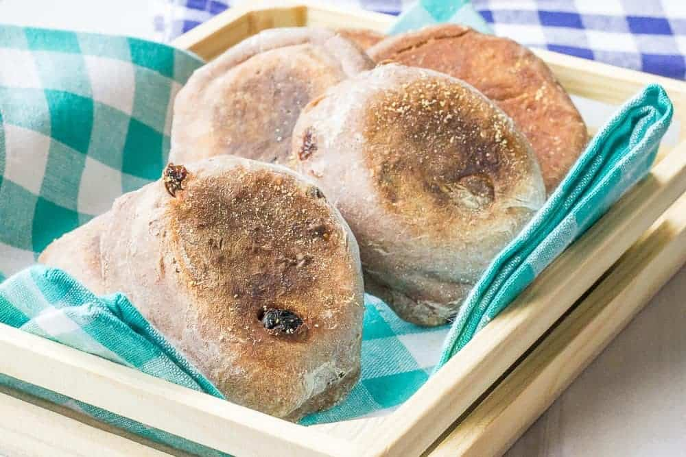 Cinnamon raisin English muffins are easier to make at home than you think.