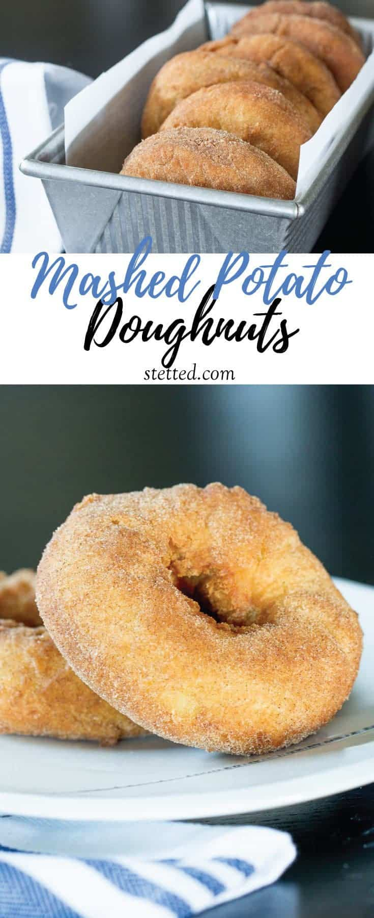 Mashed potato doughnuts are an old-fashioned-style doughnut everyone will love! Nothing beats homemade doughnuts.