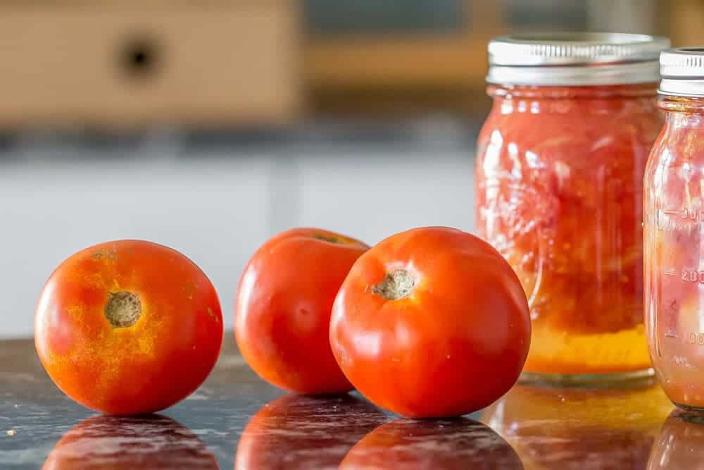 It's tomato season! Learn how to peel tomatoes to make the most of them.