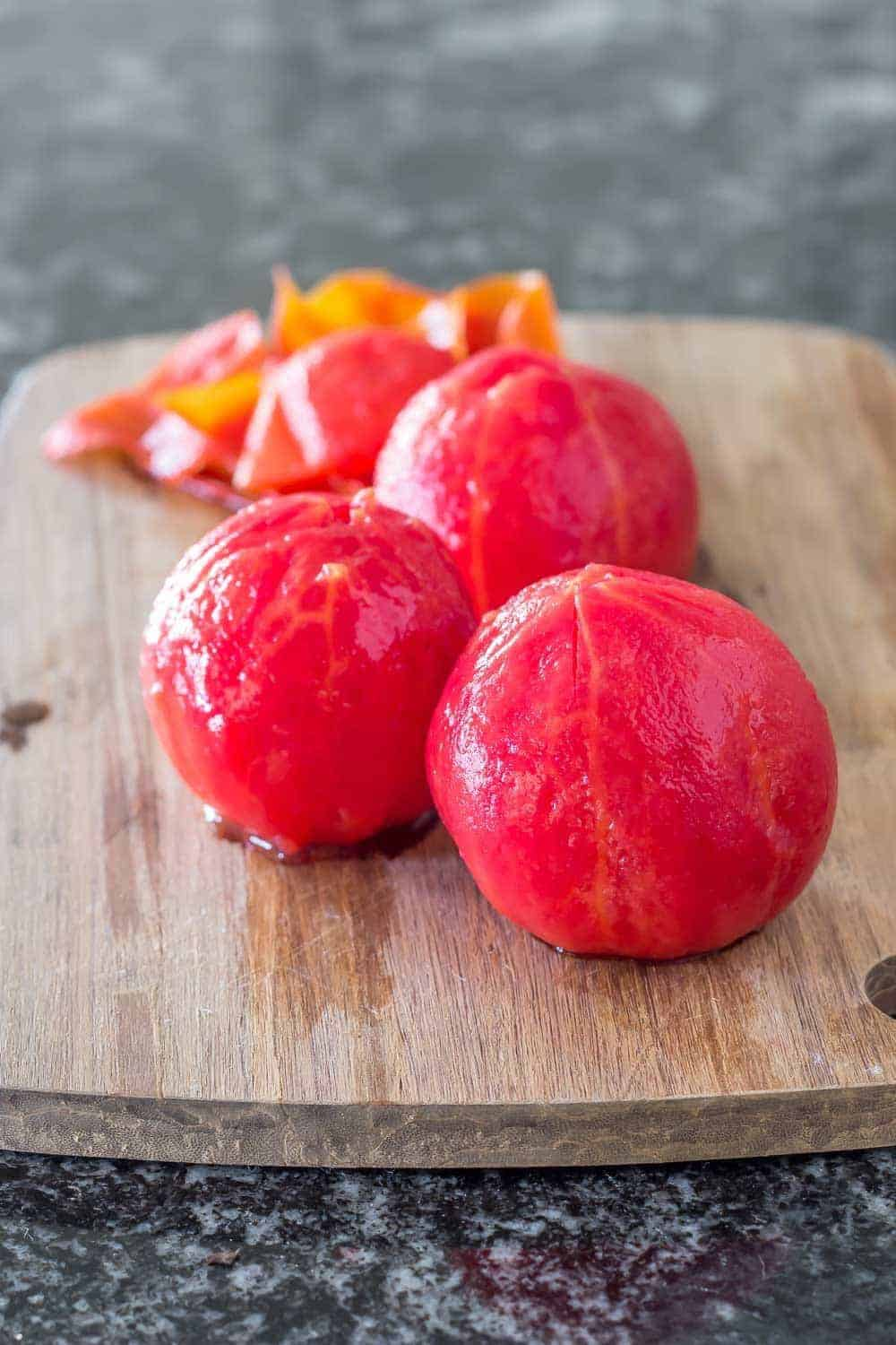 Learn how to peel tomatoes for cooking and canning. It's easy!
