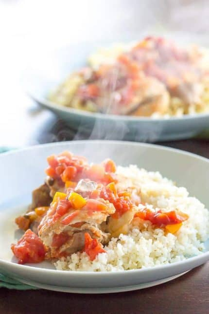 Instant Pot Chicken Cacciatore Photo