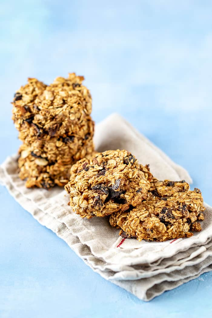 Fig breakfast cookies are a great option when mornings are rushed.