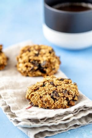 Fig breakfast cookies are a healthy and hearty grab-and-go breakfast. They're easy to make ahead, too!