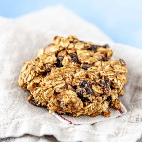 Make a batch of fig breakfast cookies to have on hand all week.